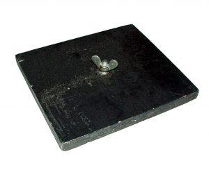Platine de sol (support rasant) pour 1 projecteur