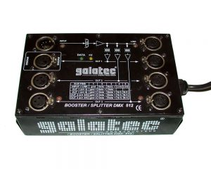 BOOSTER/SPLITTER DMX