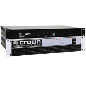 Ampli CROWN MT 600 + Processeur APG