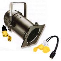 Projecteur PAR 64 avec lampe 120 V 1 000 W