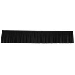 Frise velours noir 10m x 1m