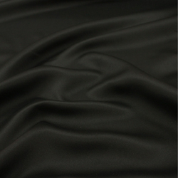 Coton gratté noir 240 g/m² en 2.60 m de large