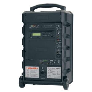 Enceinte conférence amplifiée secteur/batterie
