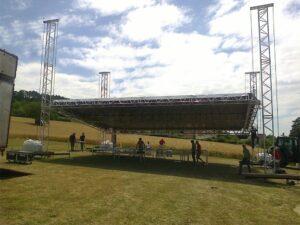 Gril Technique «FL Structures» couvert, 12 x 10 m