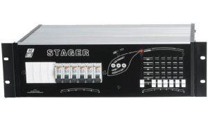 Bloc gradateur 6×2 Kw Stager